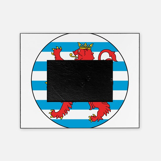 Luxembourg Roundel Picture Frame