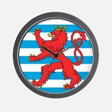 Luxembourg Roundel Wall Clock