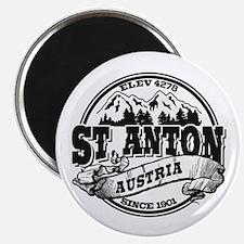St. Anton Old Circle Magnet