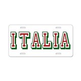 Souvenirs of italy License Plates