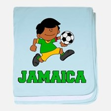 Jamaica Football (Soccer) Child baby blanket