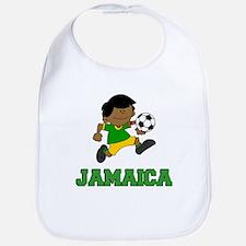 Jamaica Football (Soccer) Child Bib