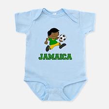 Jamaica Football (Soccer) Child Infant Bodysuit