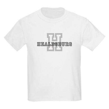 Healdsburg (Big Letter) Kids T-Shirt