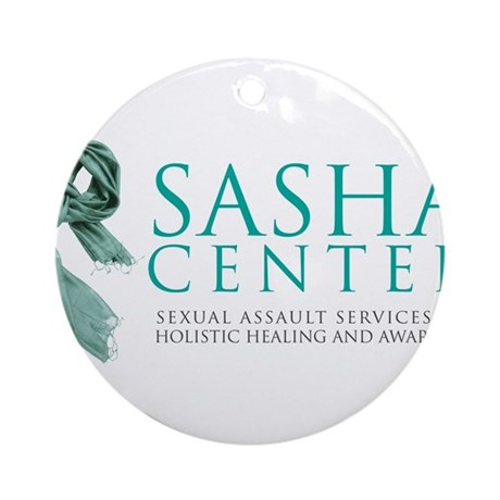 SASHA Center Gear Ornament (Round)