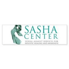 SASHA Center Gear Bumper Sticker
