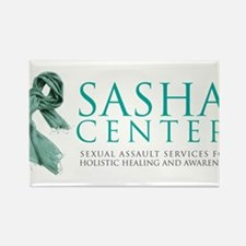 SASHA Center Gear Rectangle Magnet