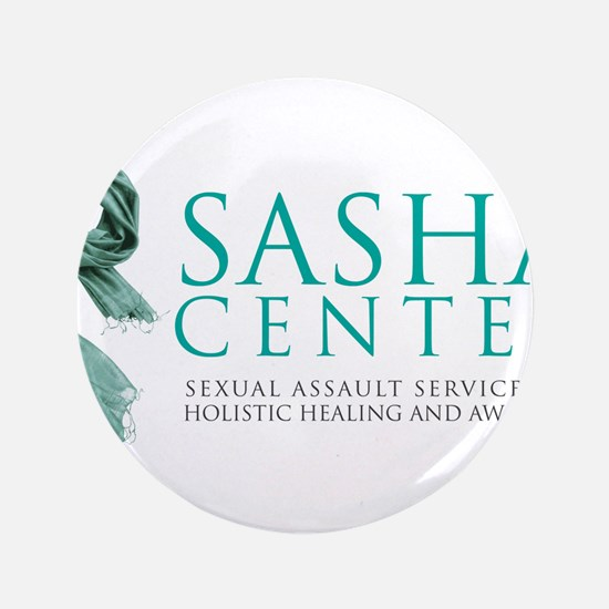 "SASHA Center Gear 3.5"" Button"