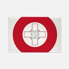 Malta Roundel Rectangle Magnet