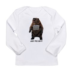 Grill Bear Long Sleeve Infant T-Shirt