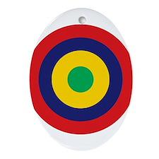 Mauritius Roundel Ornament (Oval)
