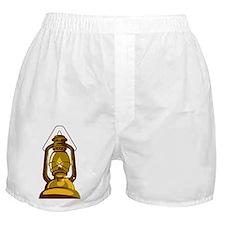 kerosene oil lamp retro Boxer Shorts