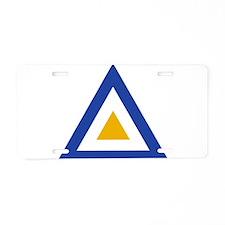 Myanmar Roundel Aluminum License Plate