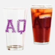 AQ, Vintage Drinking Glass