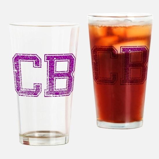 CB, Vintage Drinking Glass