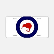 New Zealand Roundel Aluminum License Plate
