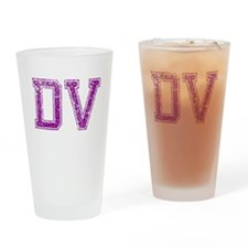DV, Vintage Drinking Glass