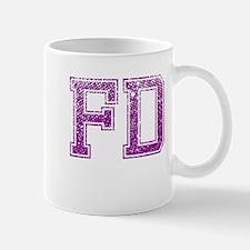 FD, Vintage Mug