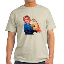 Rosie the Riveter Light T-Shirt