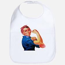 Rosie the Riveter Bib