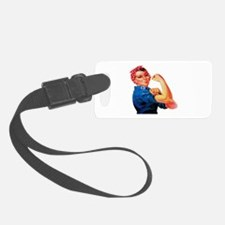 Rosie the Riveter Luggage Tag