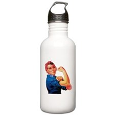 Rosie the Riveter Water Bottle