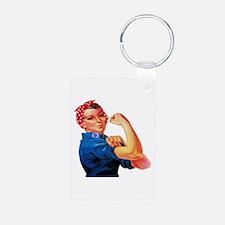 Rosie the Riveter Keychains