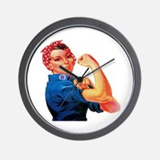 Rosie the Riveter Wall Clock