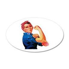 Rosie the Riveter Wall Decal