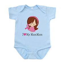 MomMom Breast Cancer Support Infant Bodysuit