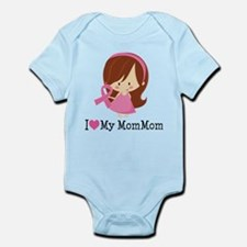 MomMom Breast Cancer Support Infant Bodysuit