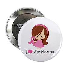 "Nonna Breast Cancer Support 2.25"" Button"