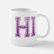 HI, Vintage Mug