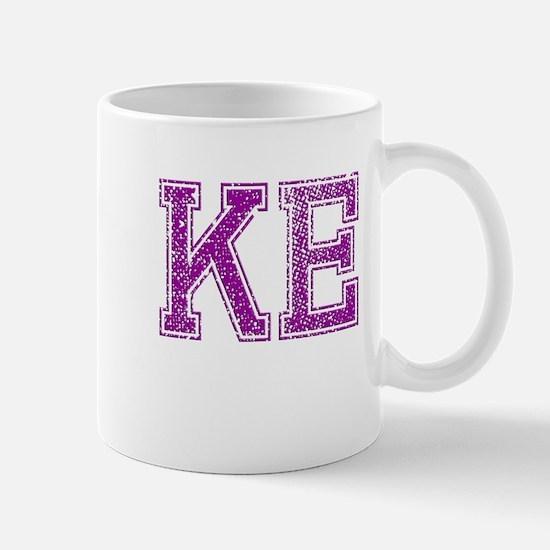 KE, Vintage Mug