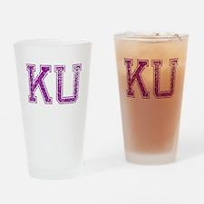 KU, Vintage Drinking Glass