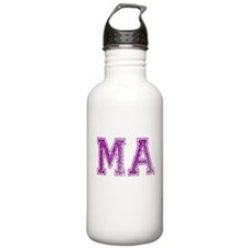 MA, Vintage Water Bottle