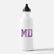 MD, Vintage Water Bottle
