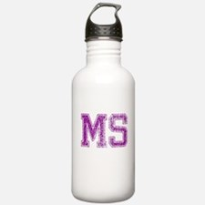 MS, Vintage Water Bottle