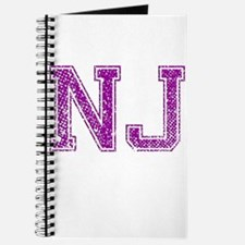 NJ, Vintage Journal