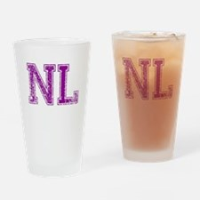 NL, Vintage Drinking Glass