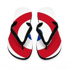 Paraguay Roundel Flip Flops