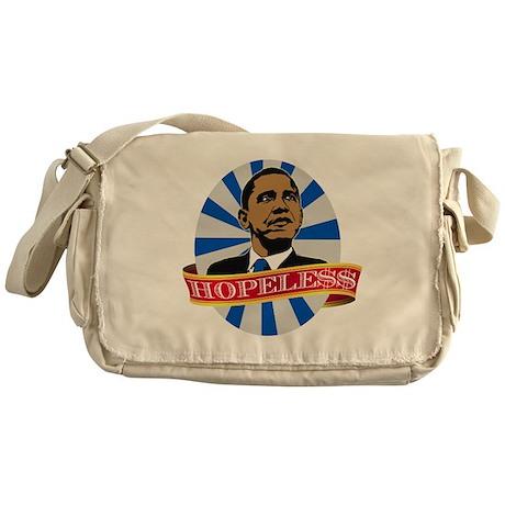 Obama Hopeless Messenger Bag