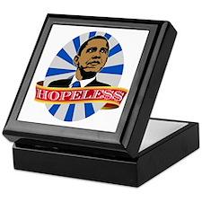 Obama Hopeless Keepsake Box