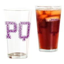 PQ, Vintage Drinking Glass