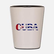 Cuba Shot Glass