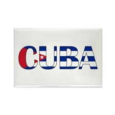 Cuba Rectangle Magnet