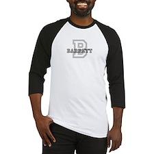 Barrett (Big Letter) Baseball Jersey