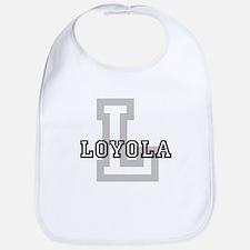Loyola (Big Letter) Bib