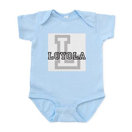 Loyola (Big Letter) Infant Creeper