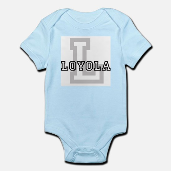 Loyola (Big Letter) Infant Creeper